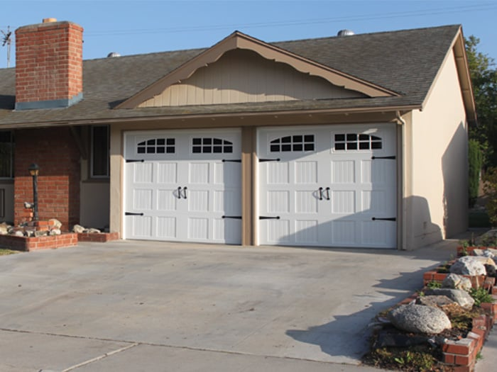 carriage house garage door installation