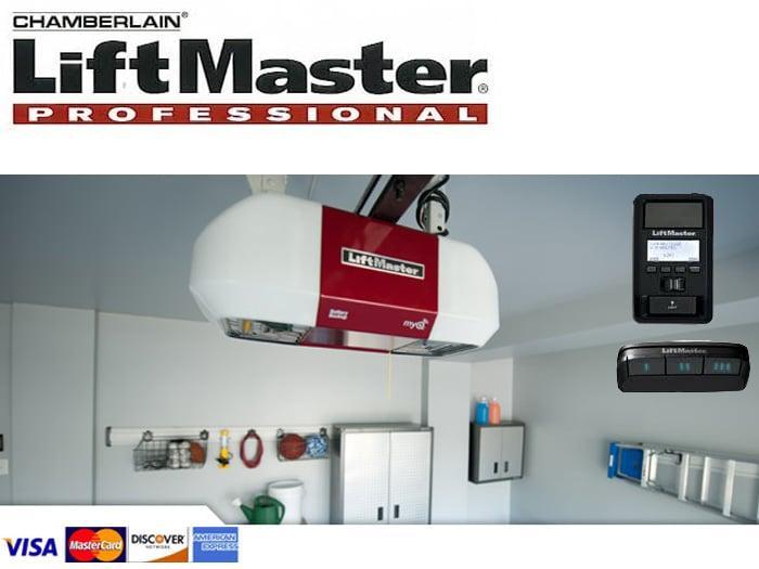liftmaster certified garage door installer